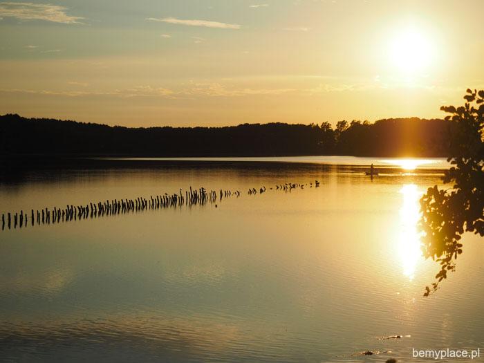 jezioro ułówki mazury