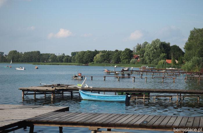 mazury łódki