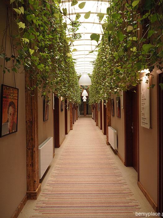 korytarz młyn jacka
