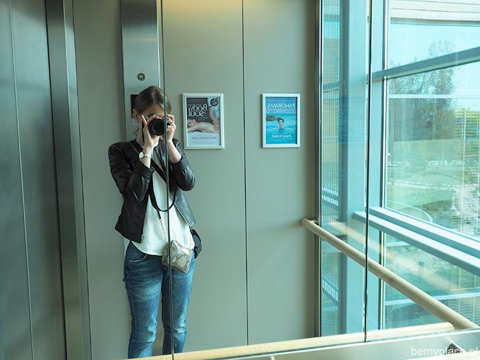 zdjęcie w windzie